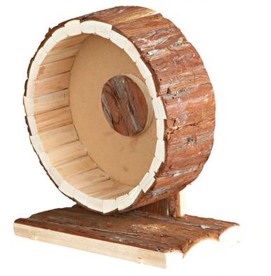 Hamsterhjul i trä