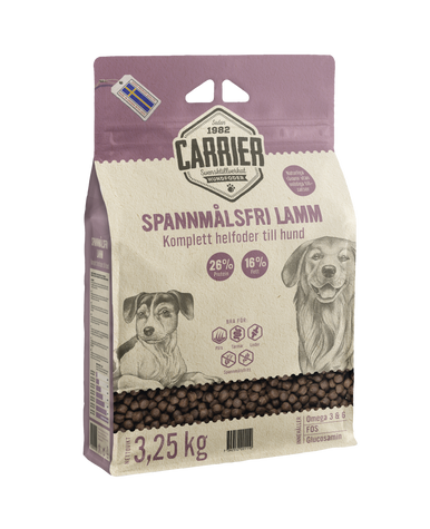 Spannmålsfri Lamm Hundfoder