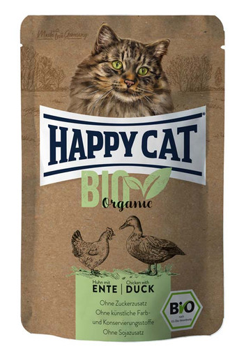Bio Organic Kyckling & Anka, våtfoder katt