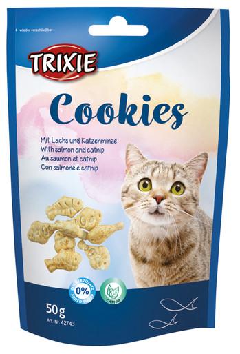 Cookies med Lax och Kattmynta
