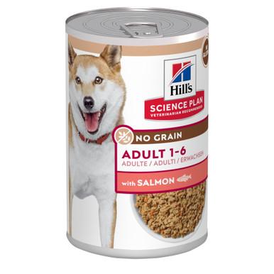 Adult No Grain Hundfoder med Lax - 12 x 363 g