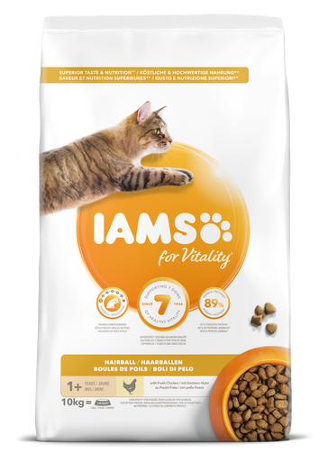 Cat Adult Hairball - 10 kg