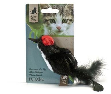 Kitty Play Squeaking, Black Bird