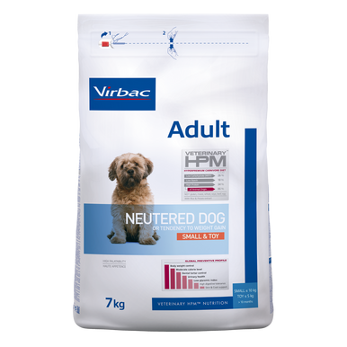 Adult Neutered Dog Small & Toy - 7 kg