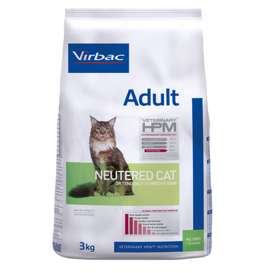 Adult Neutered Cat - 3 kg