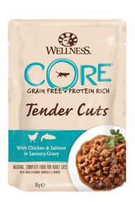 Cat TC pouch Chicken & Salmon in Gravy