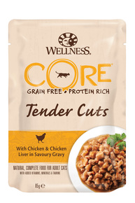 Cat TC pouch Chicken & Chicken Liver in Gravy