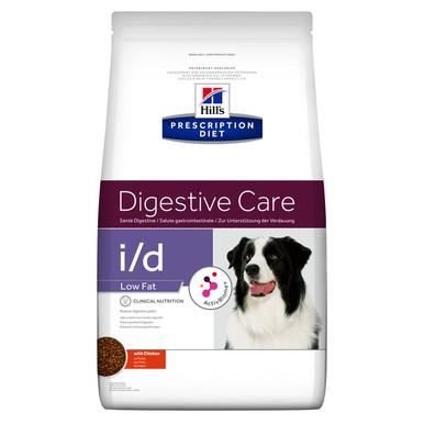 Prescription Diet i/d Low Fat hundfoder med kyckling