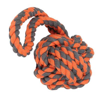 Flossrep Extreme för stora hundar - Orange/svart