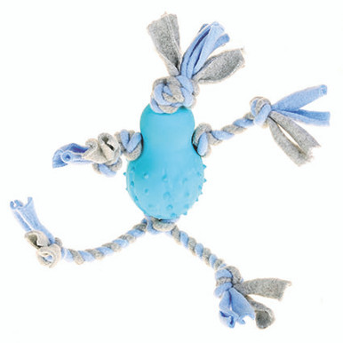 Fleeceleksak med gummikropp
