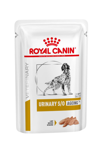 Veterinary Diets Dog Urinary S/O Ageing Loaf Pouch