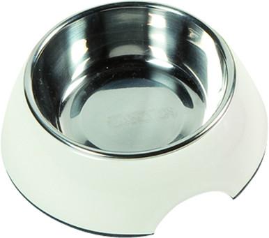 Skål i melamin med lös rostfri skål