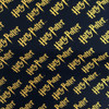 Harry Potter Logo Black 100% Cotton (Harry Potter 2)