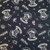 Harry Potter Hogwarts Black 100% Cotton (Harry Potter 4)