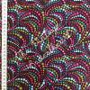 Benartex Cat-I-tude Beaded Swirls Black 100% Cotton (Benartex Beaded Swirls)