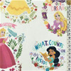 Disney Princess Follow Your Heart White 100% Cotton (Disney Princess Follow Your Heart)