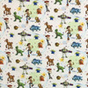 Disney Toy Story Characters Beige 100% Cotton (CG Toy Story 12)