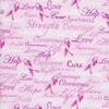 Timeless Treasures Pink Ribbons Of Hope 100% Cotton (TT Pink Ribbons Of Hope)
