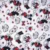 Disney Minnie & Mickey Love Letters White 100% Cotton (Minnie & Mickey Love Letters)