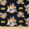 Camelot Fabrics Warner Bros. Looney Tunes That'S All Folks! Black 100% Cotton (Looney Tunes 1)