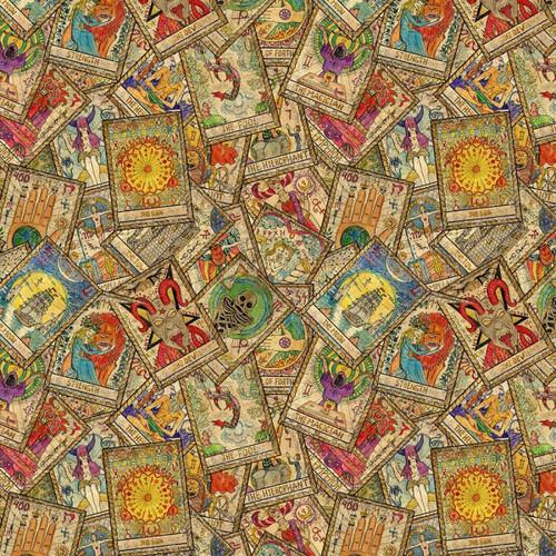 Chatham Glyn Tarot Cards Beige 100% Cotton (CG Tarot 1)
