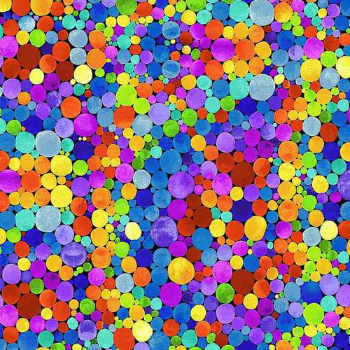 Timeless Treasures Spirit Geo Ball Multicoloured 100% Cotton (TT Geo Ball)