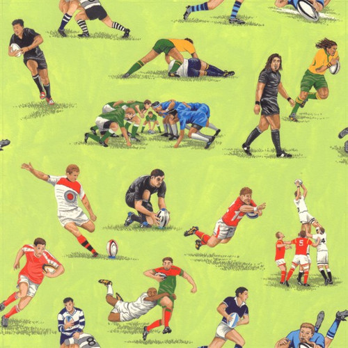 Nutex Match Day Rugby Players Green 100% Cotton (Match Day 1)