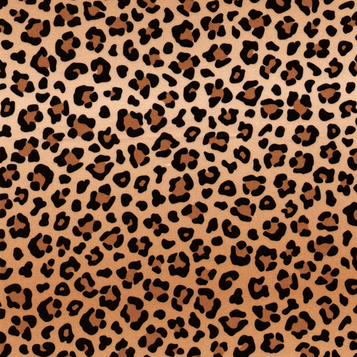 The Vintage Sweetheart Leopard Skin Beige 100% Cotton Remnant (45 x 156cm VS Wild Thing)