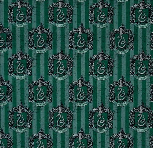 Harry Potter Slytherin Green 100% Cotton (Harry Potter 6)