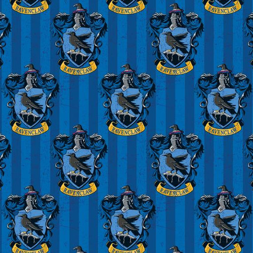 Harry Potter Ravenclaw Blue 100% Cotton (Harry Potter 8)