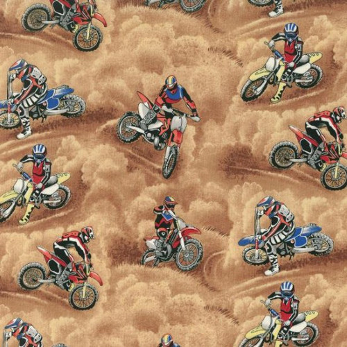 Motocross Motorcycle Racing 100% Cotton (Motocross)