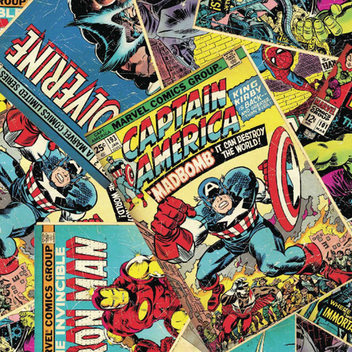 Marvel Comic Books 100% Cotton (Marvel Comics 4)