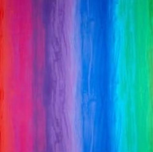 Timeless Treasures Spirit Bright Rainbow Stripe 100% Cotton (TT Spirit Bright Rainbow Stripe)