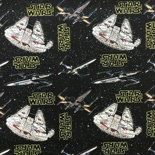Star Wars Millennium Falcon Black 100% Cotton (Star Wars 9)