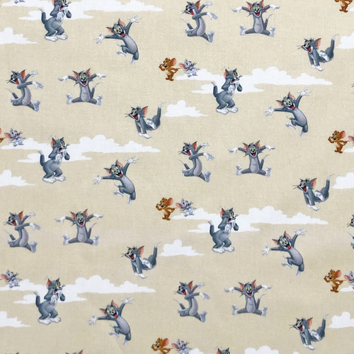 Tom And Jerry Beige 100% Cotton (Tom And Jerry 1)