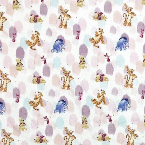 Disney Winnie The Pooh, Tigger, Eeyore & Piglet 100% Cotton (Winnie 23)
