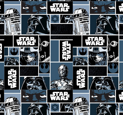 Star Wars Darth Vader Grid Cotton (Star Wars 11)
