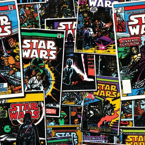Star Wars Comics 100% Cotton Remnant (64 x 110cm Star Wars 10)