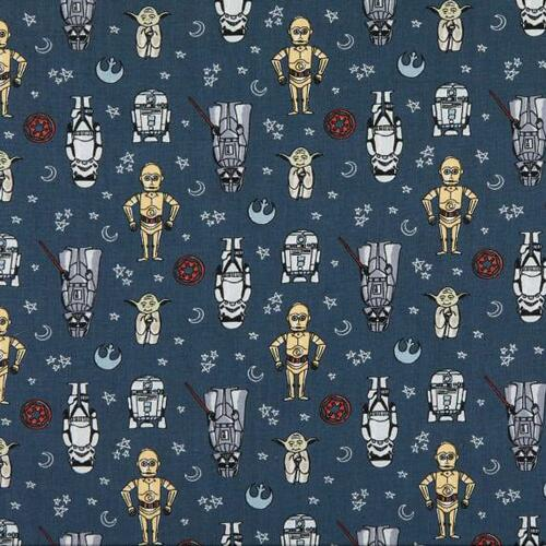 Star Wars Doodle Figures Grey 100% Cotton (Star Wars 27)