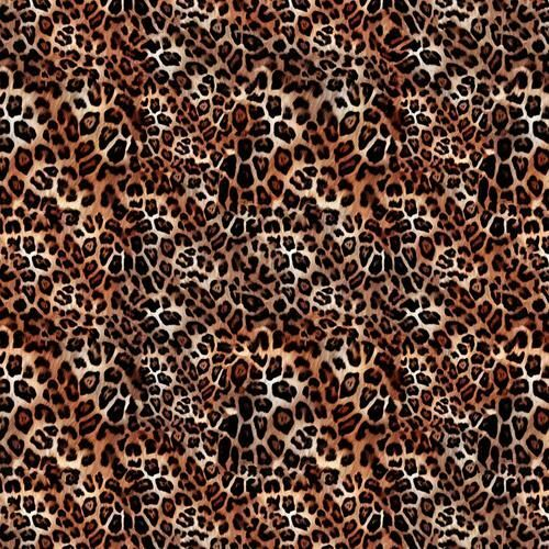 Chatham Glyn Animal Skins Big Cat Leopard Print 100% Cotton Remnant (27 x 140cm CG Animal Skins 6)