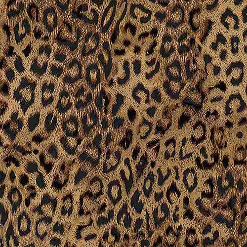 Timeless Treasures Wild Camo Leopard Skin Brown 100% Cotton (TT  Leopard Skin)