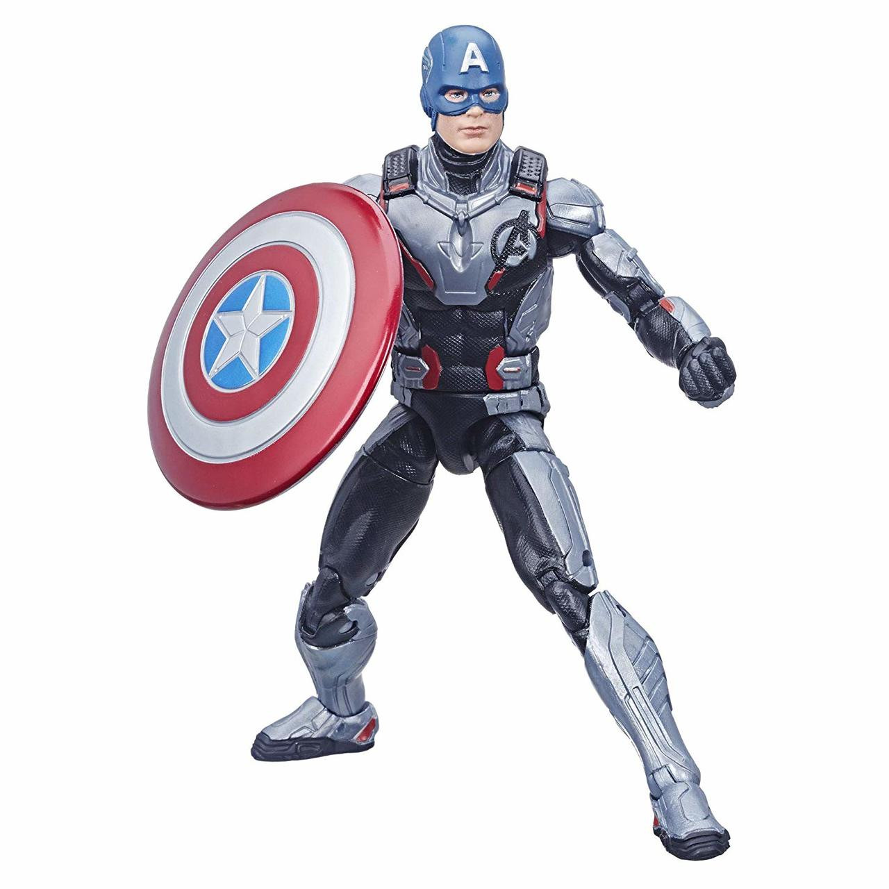 Ultimate Marvel Legends Captain America 6-Inch Action Figure with Motorcycle