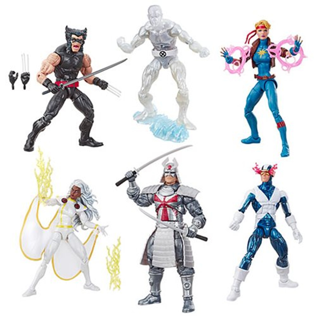 X Men Legends 90s Havok and Polaris 6-Inch Action Figures Set
