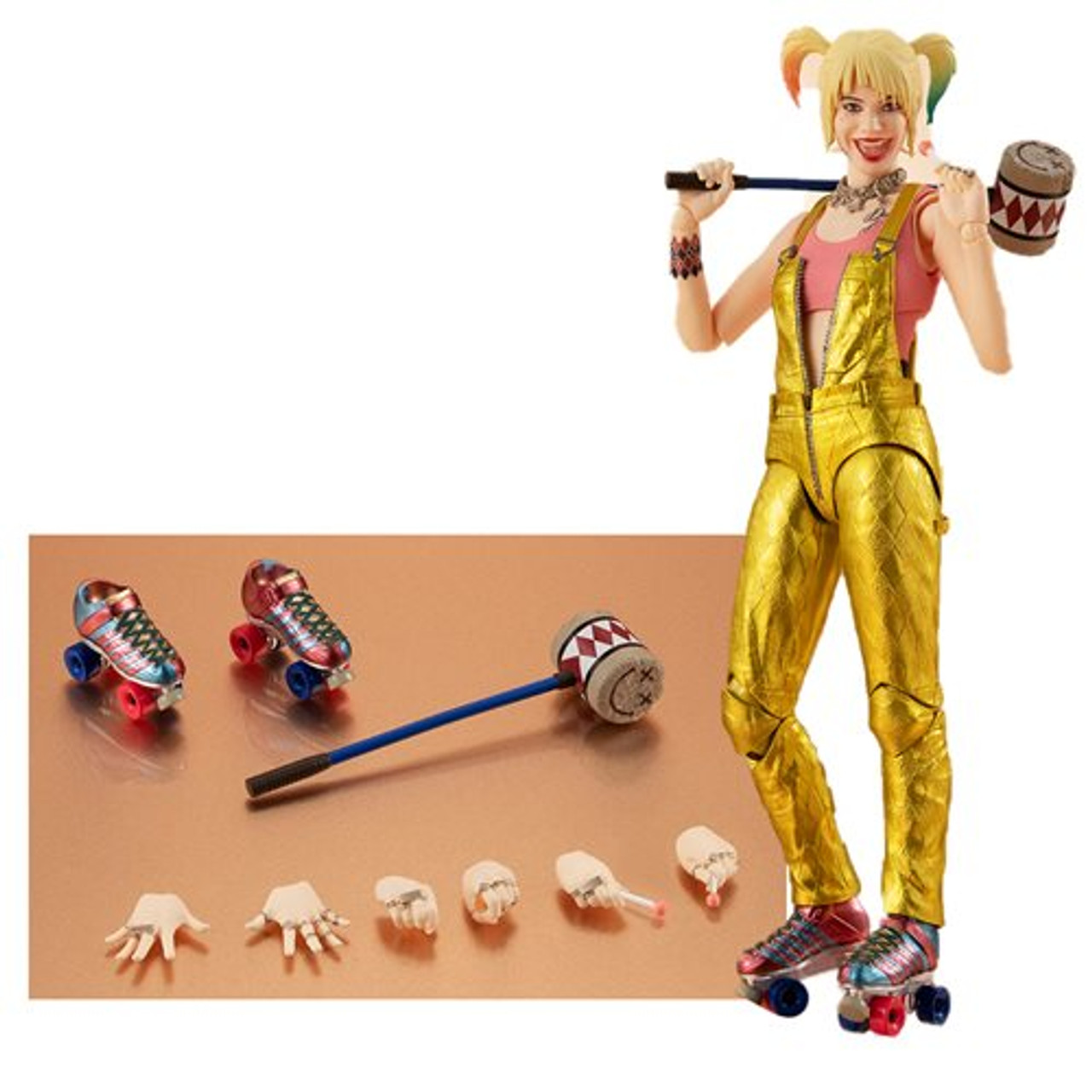 Birds Of Prey And The Fantabulous Emancipation Of One Harley Quinn Harley Quinn Sh Figuarts Action Figure Mikescomicsnstuff