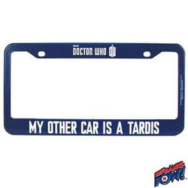 Doctor Who My Other Car Is A TARDIS License Frame - Modern