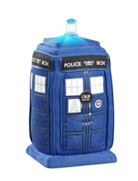 "Doctor Who 15"" Deluxe Talking TARDIS Plush"