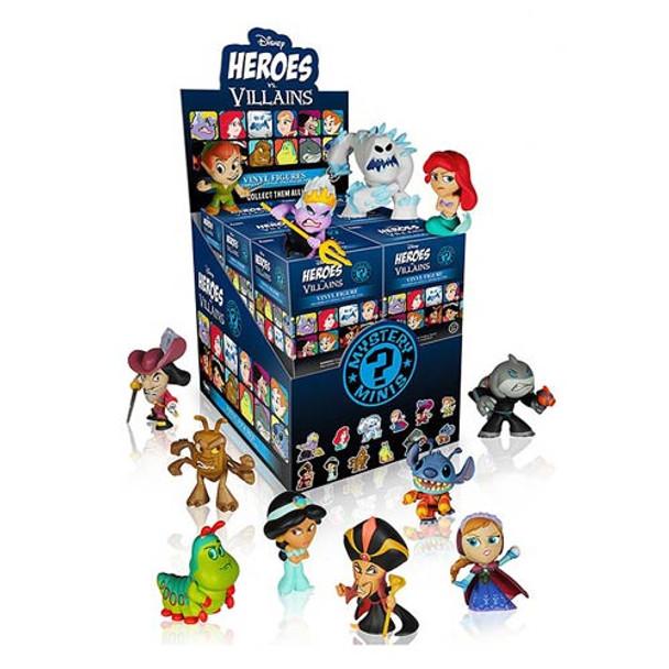 Disney Heroes vs. Villains Mystery Minis - 4 Random Boxes