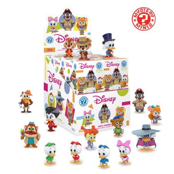 Disney Afternoon Mystery Minis Vinyl Figures - 4 Random Boxes