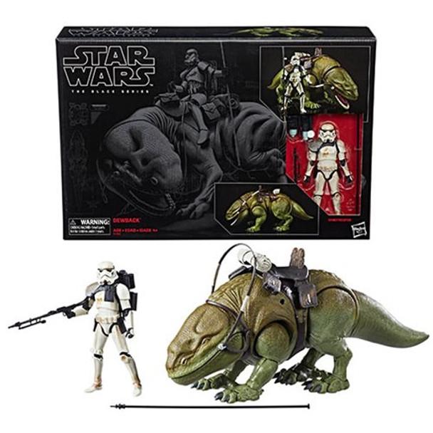 Star Wars The Black Series 6-Inch Dewback and Sandtrooper Action Figure