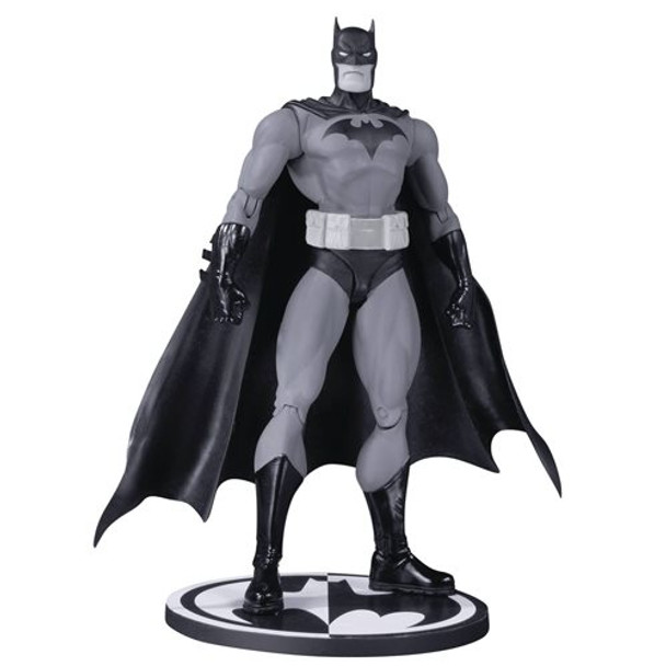 Batman Black and White Hush By Jim Lee Action Figure: